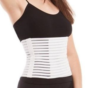 White Postpartum Belly Recovery Stomach Wrap